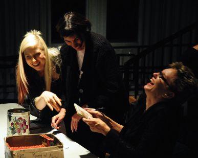 Ariana Gillis & Eliza Gilkyson share a laugh