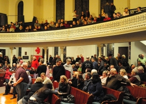 Audience at Chalmers United Church