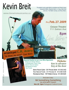 Live Wire Music Series February 27, 2009 Concert