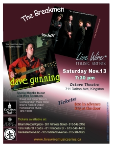 Live Wire Music Series November 13, 2011 Concert