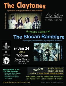 The Claytones and The Slocan Ramblers