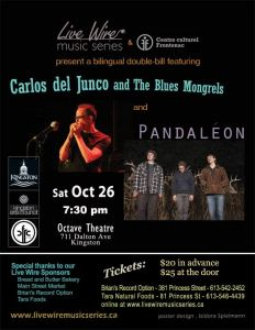 Carlos del Junco and The Blues Mongrels and Pandaleon