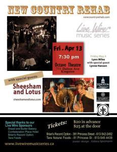 Live Wire Music Series April 13, 2012 Concert