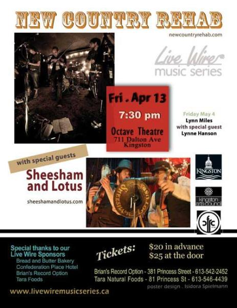 Live Wire Music Series April 13, 2012 Concert